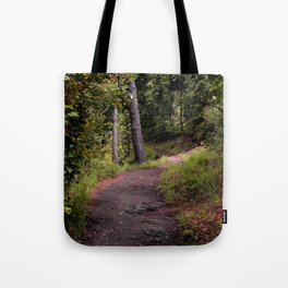 Peaceful Forest Trail Tote Bag