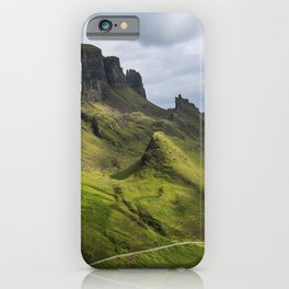 Mesmerized by the Quiraing iPhone Case