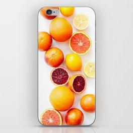 Winter Citrus 2 iPhone Skin