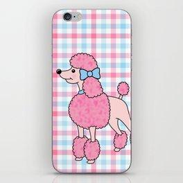 Pink Poodle iPhone Skin
