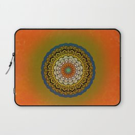 Round Colorful Design Laptop Sleeve