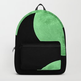 LIME MOON // BLACK SKY Backpack