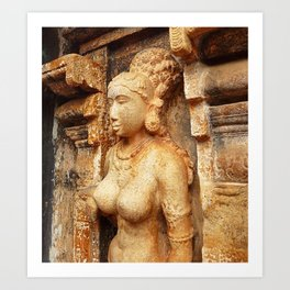 Sarangapani Temple Art Print
