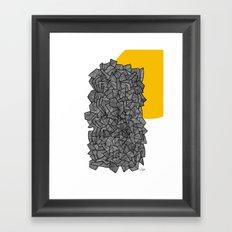 - burn - Framed Art Print