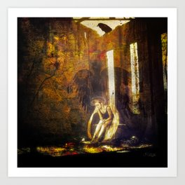Inner Turmoil Art Print