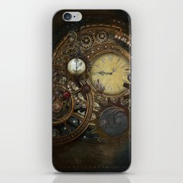 Steampunk Clocks iPhone Skin