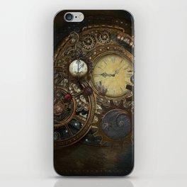 Steampunk Clocks iPhone Skin