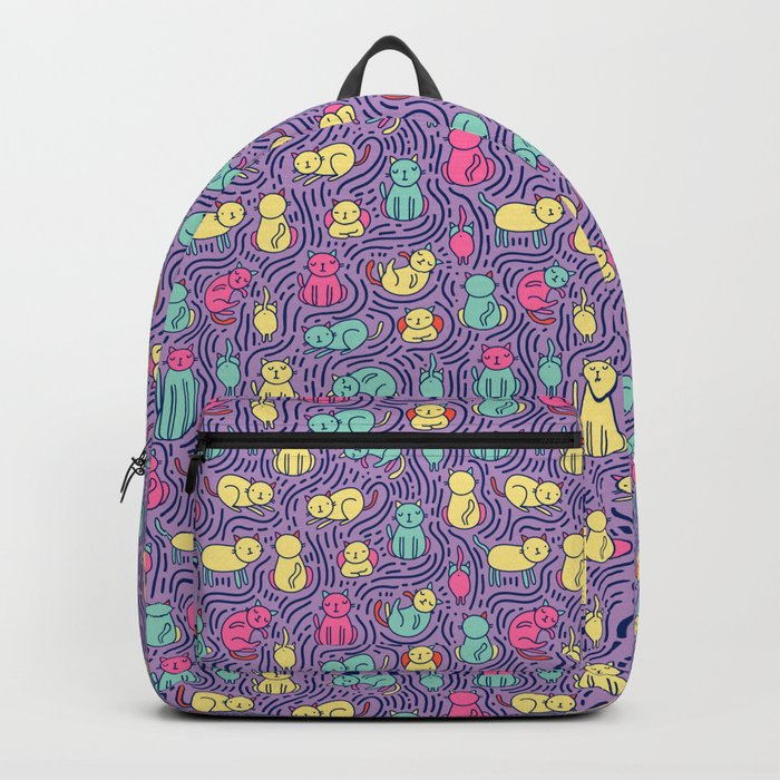 Bright cats Backpack