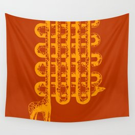 Neck Pattern Wall Tapestry
