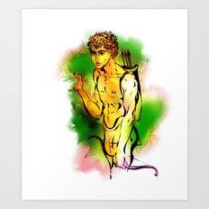 In the jungle Art Print