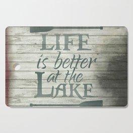 Lake Life Cutting Board