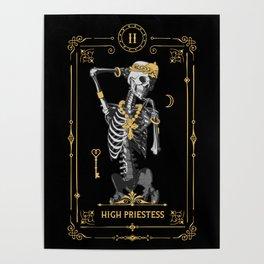 High Priestess II Tarot Card Poster