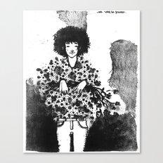 We won´t be friends Canvas Print