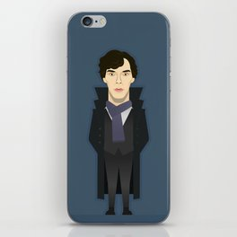 Watching The Detectives #2: Portrait iPhone Skin