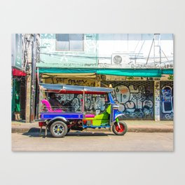 Tuk-Tuk in Bangkok Canvas Print