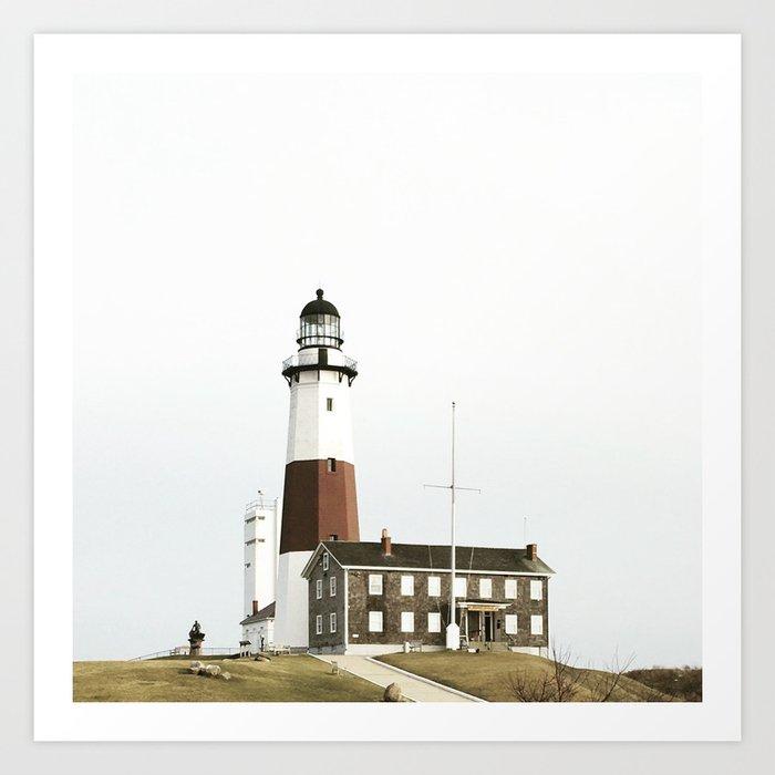 Lighthouse, Montauk Point Kunstdrucke