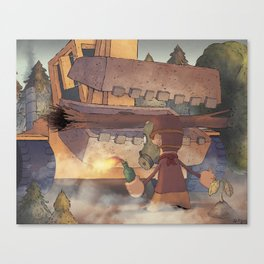 Occupy Gezi Canvas Print