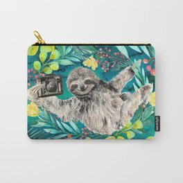 Sloth with Camera Carry-All Pouch