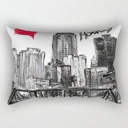 I love Des Moines Rectangular Pillow