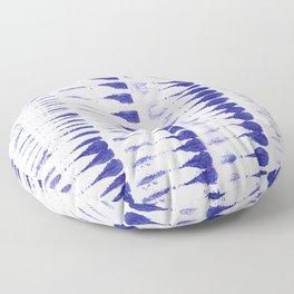 Shibori strokes Floor Pillow