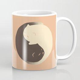 Hidden cat 9 Yin Yang kitty Coffee Mug
