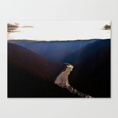 Morning View from Cooper's Rock Canvas Print