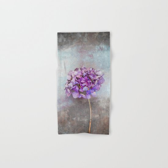 Beautiful Lilac Hydrangea Hand & Bath Towel