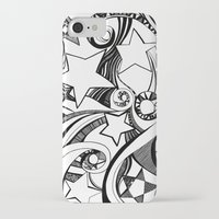 starry night iPhone & iPod Cases featuring Starry starry night by OhMyDodd Designs