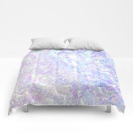 Iridiscent Pastel Crystal Comforters