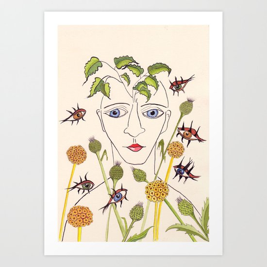 Renacer Art Print