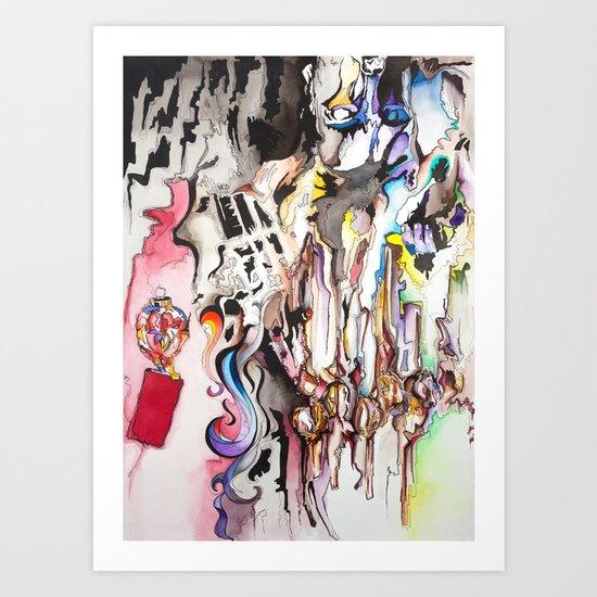 Porn Piece Art Print