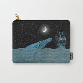 The Whale and the Sea Carry-All Pouch