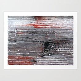 Corrugations Art Print