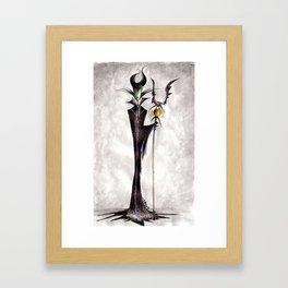 Maleficent Framed Art Print
