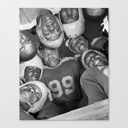 Vintage Football Photo - Gordon Parks, 1943 Canvas Print