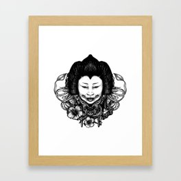 Gueisha Framed Art Print