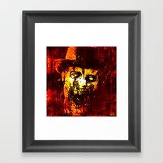 Zombie - WW Framed Art Print