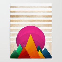 067 - Autumn sunrise Poster