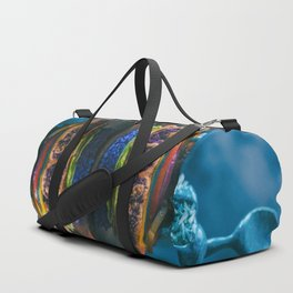 Mermaid Cauliflower Rice Burger Duffle Bag