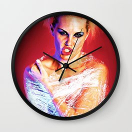 Born Into Wrap Wall Clock