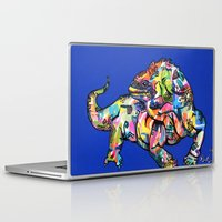 iggy Laptop & iPad Skins featuring Sunset Park Iggy by The Art of Murjani Holmes