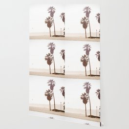 Vintage Summer Palm Trees Wallpaper