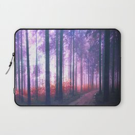 Woods in the outer space Laptop Sleeve