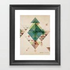 Abstract illustration Framed Art Print
