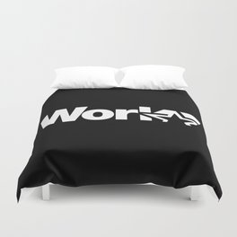 Work Duvet Cover