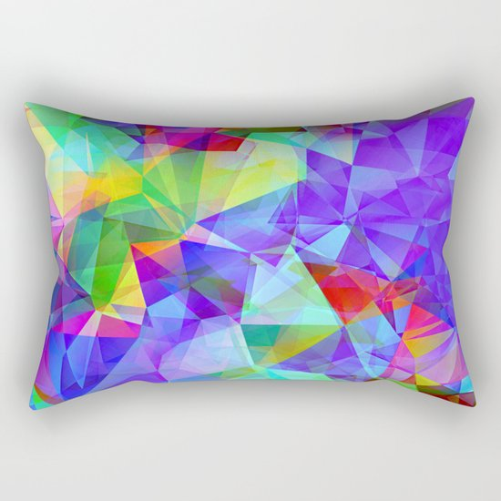 polygons Rectangular Pillow