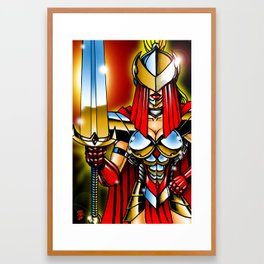 Death Blade Framed Art Print