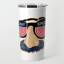 X-Ray Beaglepuss Specs Travel Mug