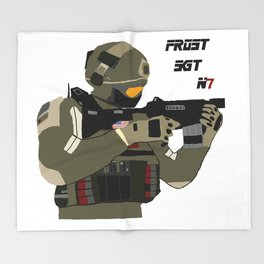 FROST SGT Throw Blanket