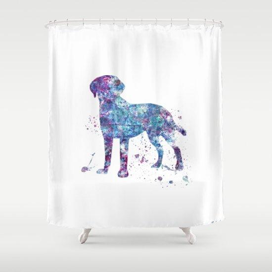 Attractive Labrador Shower Curtain